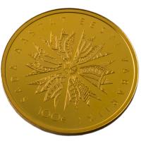 ESTONIA 2018 - 100 EURO  - 100TH ANNIVERSARY OF THE REPUBLIC OF ESTONIA