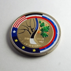 ESTONIA 2 EURO 2017 - 100 YEARS OF THE EVENTS THAT PRECEDED ESTONIA'S INDEPENDENCE