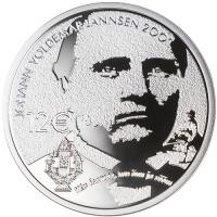 ESTONIA  2019-2 -12 EURO - 200TH ANNIVERSARY OF THE BIRTH OF JOHANN VOLDEMAR JANNSEN