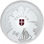 ESTONIA - EURO SILVER COINS