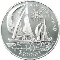 ESTONIA 1992 - 10 KROON - XXV OLYMPIAD