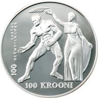 ESTONIA 1996 - 100 KROON - OLYMPIC GAMES