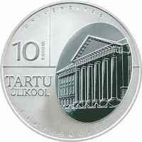 ESTONIA 2002 - 10 KROON - UNIVERSITY OF TARTU