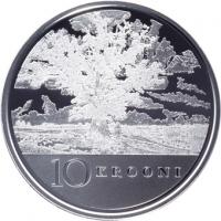 ESTONIA 2008 - 10 KROON - REPUBLIC OF ESTONIA 90