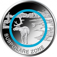 GERMANY 5 EURO 2020 - SUBPOLAR ZONE - G