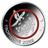 GERMANY 5 EURO 2017 - TROPISHE ZONE - F