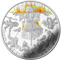 LITHUANIA 5 EURO 2019 - UZGAVENES