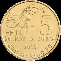 SAN MARINO 5 EURO 2019 - SAN MARINO 5G