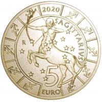 SAN MARINO 5 EURO 2020 - ZODIAC - SAGITTARIUS