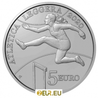 SAN MARINO 5 EURO 2020 - ATHLETICS CHAMPIONSHIPS OF THE SMALL STATES OF EUROPE SAN MARINO