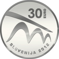 SLOVENIA 30 EURO 2012 - EUROPEAN CAPITAL OF CULTURE – MARIBOR