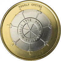 SLOVENIA 3 EURO 2012 - 100H ANNIVERSARY OF THE FIRST OLYMPIC MEDAL PROOF