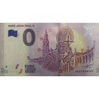 0 EURO 2018 - POPE JOHN PAUL II - VATICAN