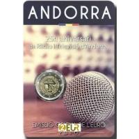 ANDORRA 2 EURO 2016 - 25 ANNIVERSARY OF RADIO IN ANDORRA