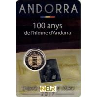 ANDORRA 2 EURO 2017 - 100 YEARS HYMN ANDORRA