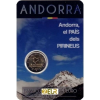ANDORRA 2 EURO 2017 - COUNTRY IN THE PYRENEES