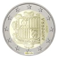 ANDORRA 2019 - 2 EURO