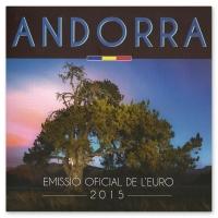 ANDORRA 2015 - EURO COIN SET
