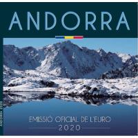 ANDORRA 2020 - EURO COIN SET(BU)