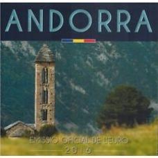 ANDORRA 2016 - EURO COIN SET