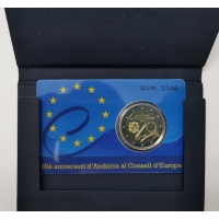ANDORRA 2 EURO 2014 - COUNCIL OF EUROPE - PROOF