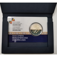 ANDORRA 2 EURO 2020 - 27th Ibero-American Summit in Andorra - PROOF