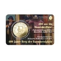 BELGIUM 2.5 EURO 2018 -400 YEARS OF BERG VAN BARMHARTIGHEID (FRANCE + HOLLAND)