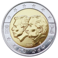 BELGIUM 2 EURO 2005 - BELGIUM LUXEMBOURG ECONOMIC UNION