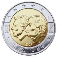 BELGIUM 2 EURO 2005 - BELGIUM LUXEMBOURG ECONOMIC UNION