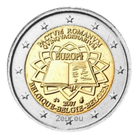 BELGIUM 2 EURO 2007 - TREATY OF ROME