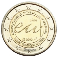 BELGIUM 2 EURO 2010 - PRESIDENCY OF EU