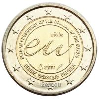 BELGIUM 2 EURO 2010 - PRESIDENCY OF EU