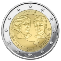 BELGIUM 2 EURO 2011 - INTERNATIONAL WOMAN'S DAY