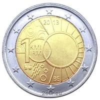BELGIUM 2 EURO 2013 - ROYAL METEOROLOGICAL INSTITUTE