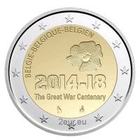BELGIUM 2 EURO 2014 - THE GREAT WAR CENTENARY