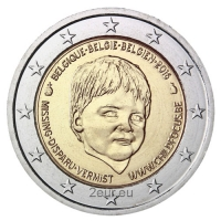 BELGIUM 2 EURO 2016 - CHILD FOCUS