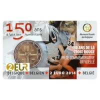 BELGIUM 2 EURO 2014 - RED CROSS - FR