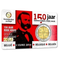 BELGIUM 2 EURO 2014 - RED CROSS - NL