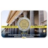 BELGIUM 2 EURO 2017 - 200 YEARS GHENT UNIVERSITY - FR
