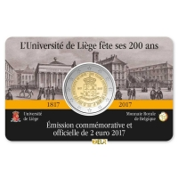 BELGIUM 2 EURO 2017 - 200TH ANNIVERSARY OF THE UNIVERSITY OF LIEGE - FR