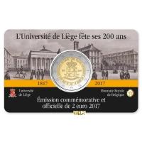 BELGIUM 2 EURO 2017 - 200TH ANNIVERSARY OF THE UNIVERSITY OF LIEGE - FR