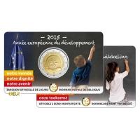 BELGIUM 2 EURO 2015 - YEAR FOR DEVELOPMENT - FR