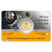BELGIUM 2 EURO 2017 - 200TH ANNIVERSARY OF THE UNIVERSITY OF LIEGE - NL