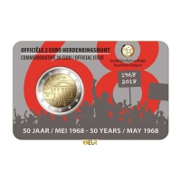 BELGIUM 2 EURO 2018 - 50TH ANNIVERSARY OF MAY 1968 - NL