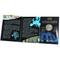 BELGIUM 2 EURO 2009 - EMU -COIN CARD