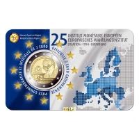 BELGIUM 2 EURO 2019-2 - 25TH ANNIVERSARY OF THE EUROPEAN MONETARY INSTITUTE (EMI) - FR