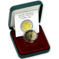BELGIUM 2 EURO 2011 - INTERNATIONAL WOMAN'S DAY - PROOF