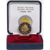 BELGIUM 2 EURO 2012 - 10 YEARS OF EURO - PROOF