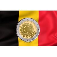 BELGIUM 2 EURO 2015 - 30 YEARS OF THE EU FLAG