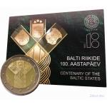 ESTONIA COIN CARD
